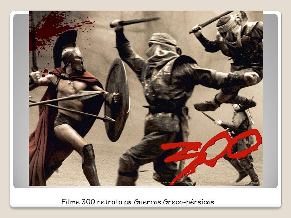 Filme 300 retrata as Guerras Greco-pérsicas