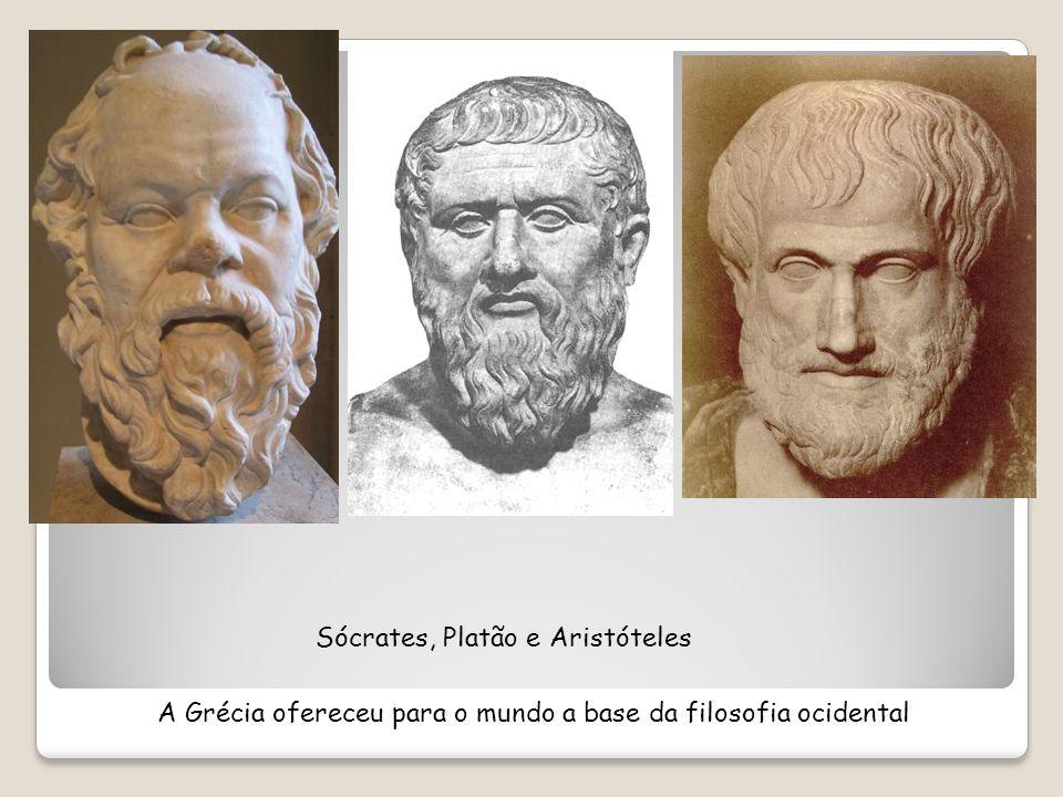 Sócrates, Platão e Aristóteles