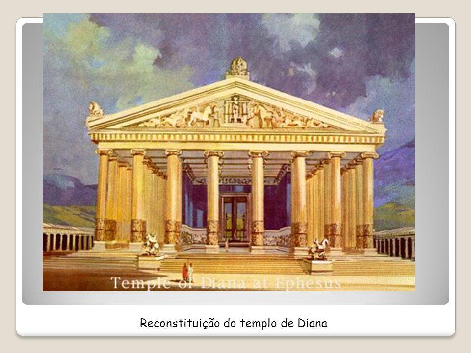 Reconstituição do templo de Diana
