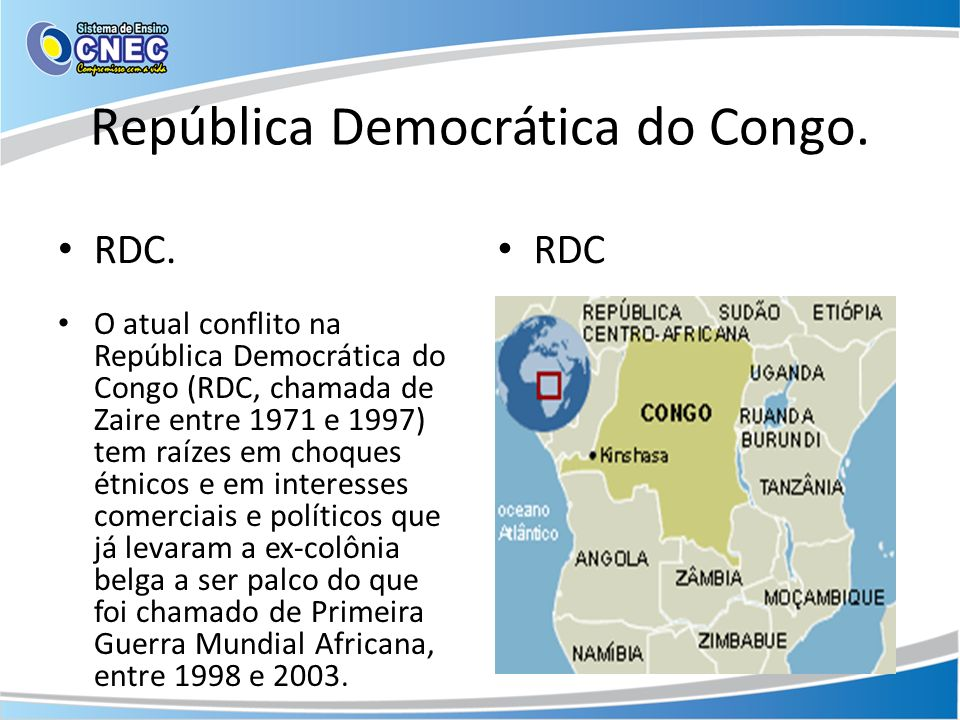 República Democrática do Congo.
