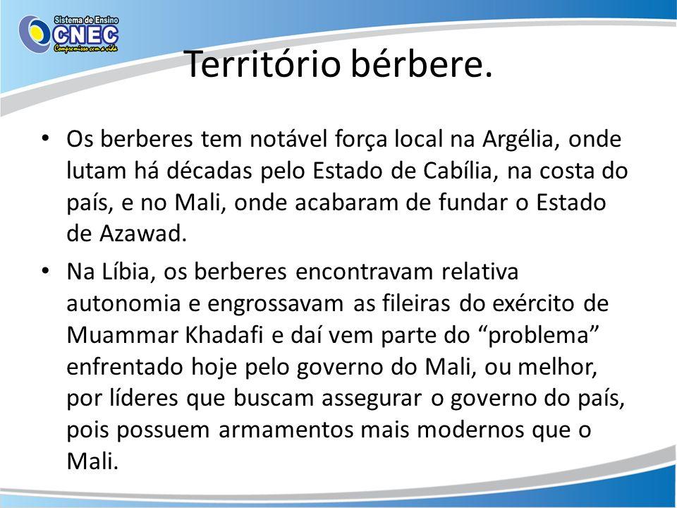 Território bérbere.