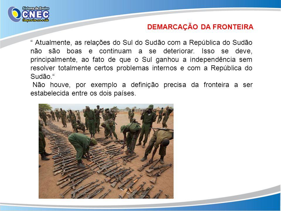 DEMARCAÇÃO DA FRONTEIRA