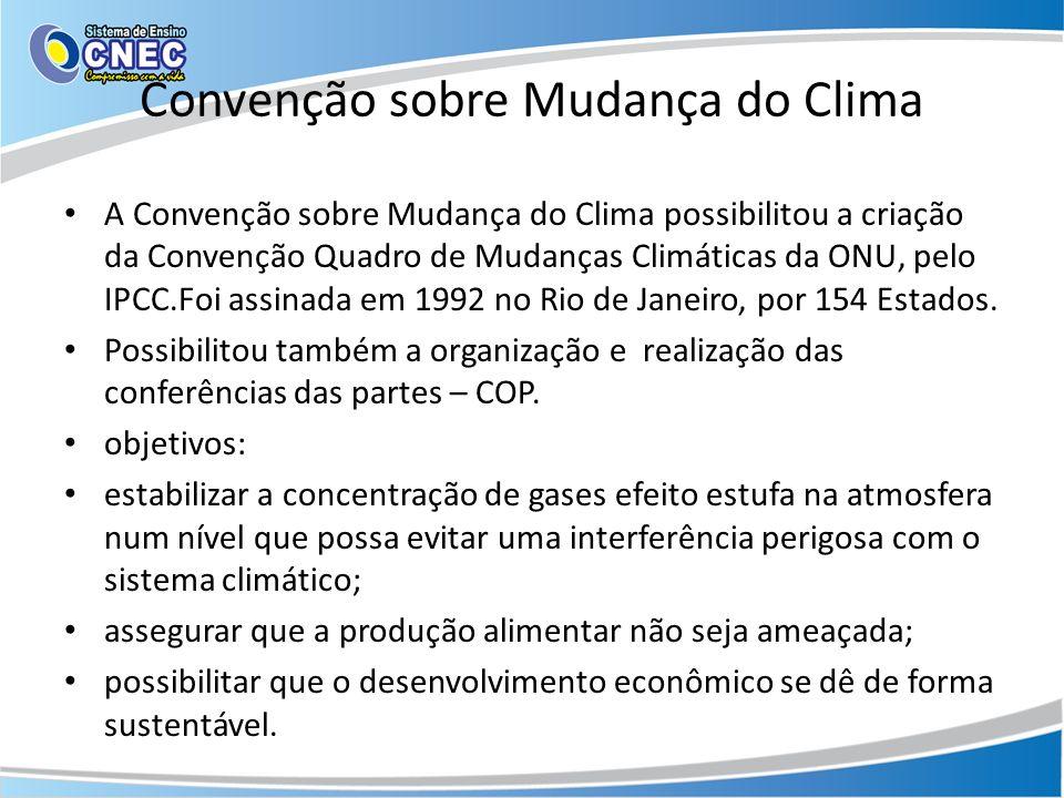 Convenção sobre Mudança do Clima