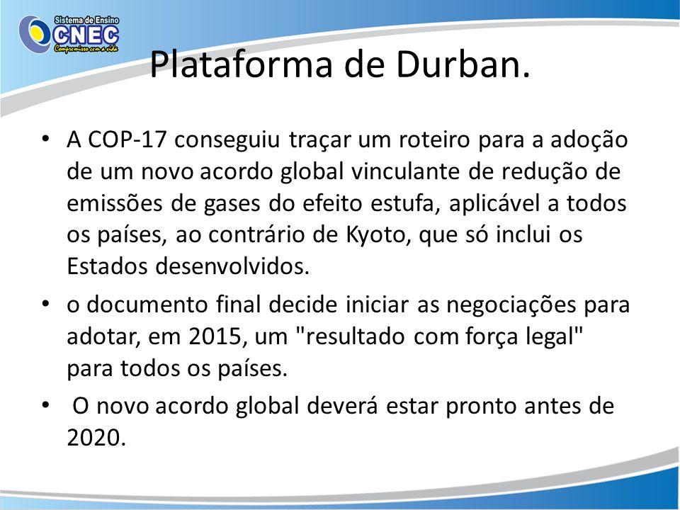 Plataforma de Durban.