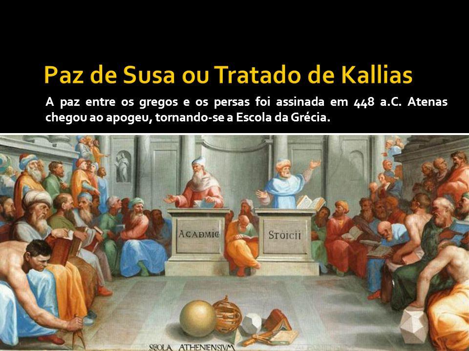 Paz de Susa ou Tratado de Kallias