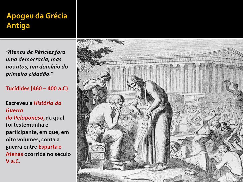 Apogeu da Grécia Antiga