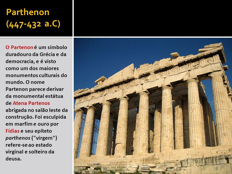 Parthenon (447-432 a.C)