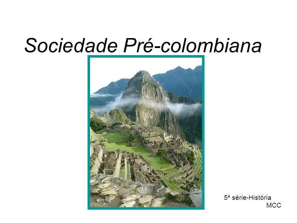 Sociedade Pré-colombiana