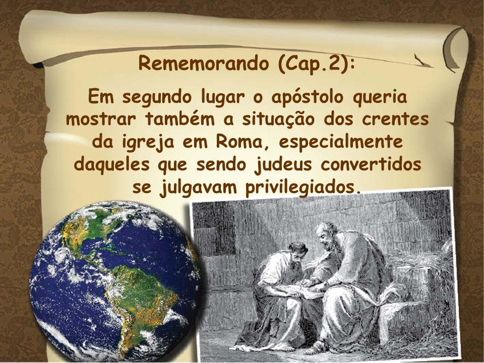 Rememorando (Cap.2):