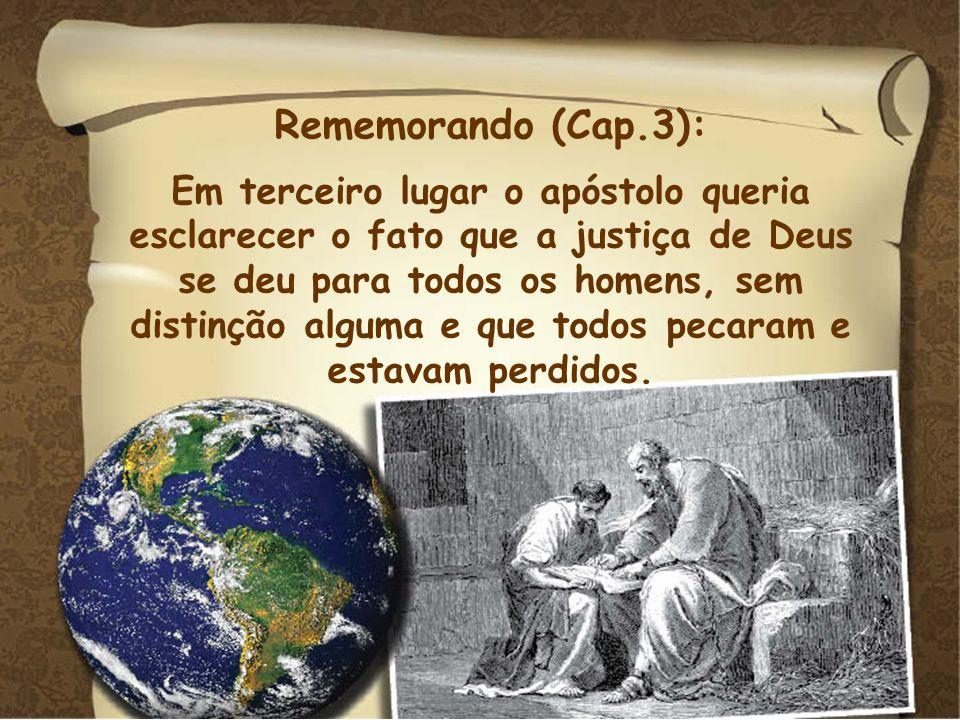 Rememorando (Cap.3):