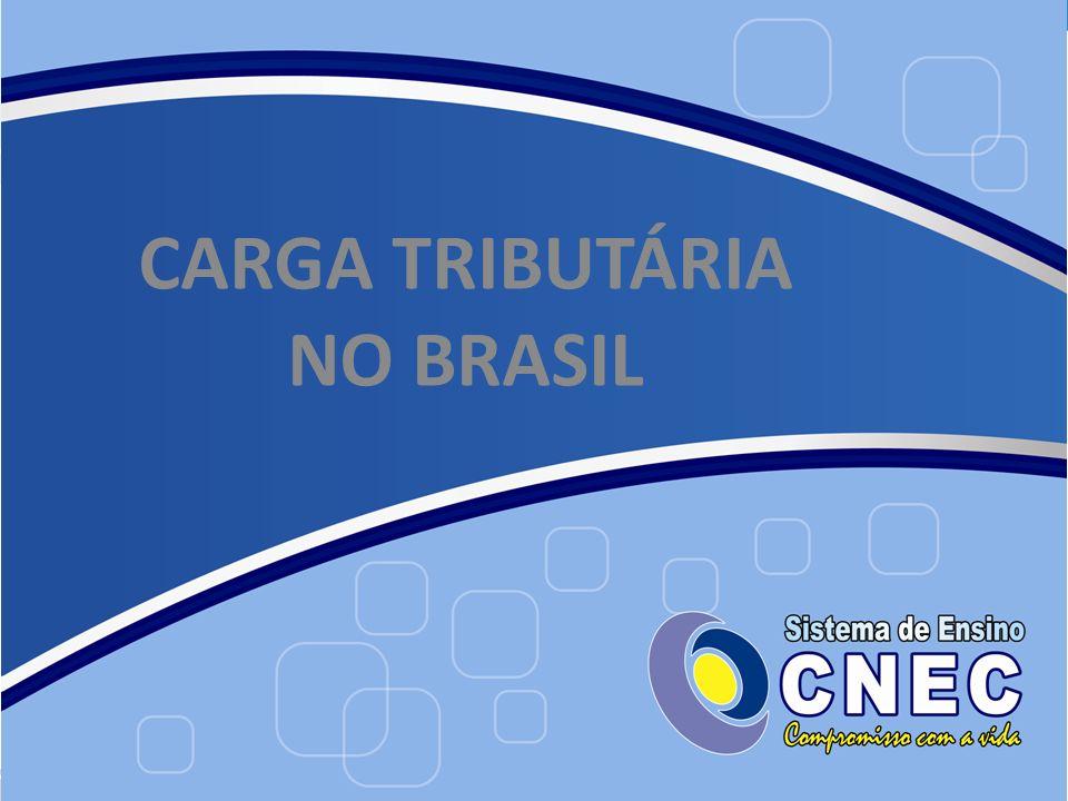 CARGA TRIBUTÁRIA NO BRASIL
