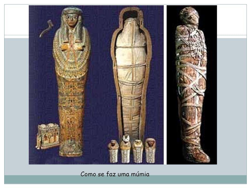 Como se faz uma múmia