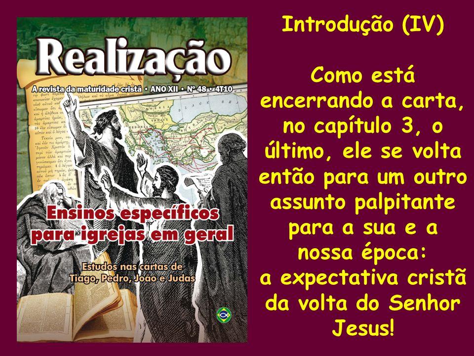 a expectativa cristã da volta do Senhor Jesus!