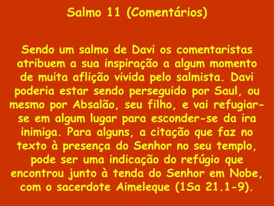 Salmo 11 (Comentários)