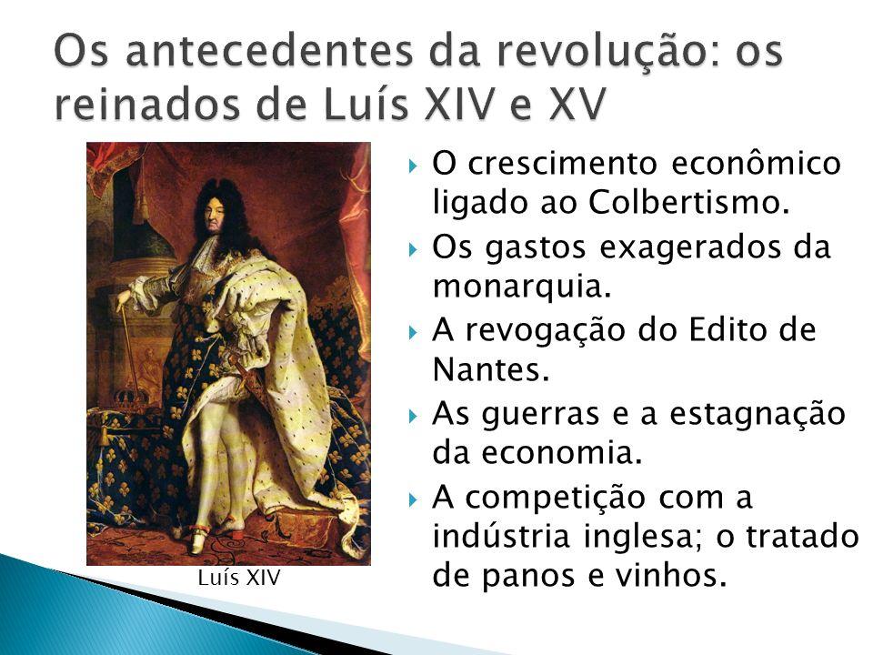 Os antecedentes da revolução: os reinados de Luís XIV e XV