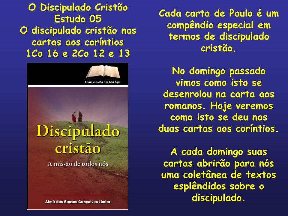 O discipulado cristão nas