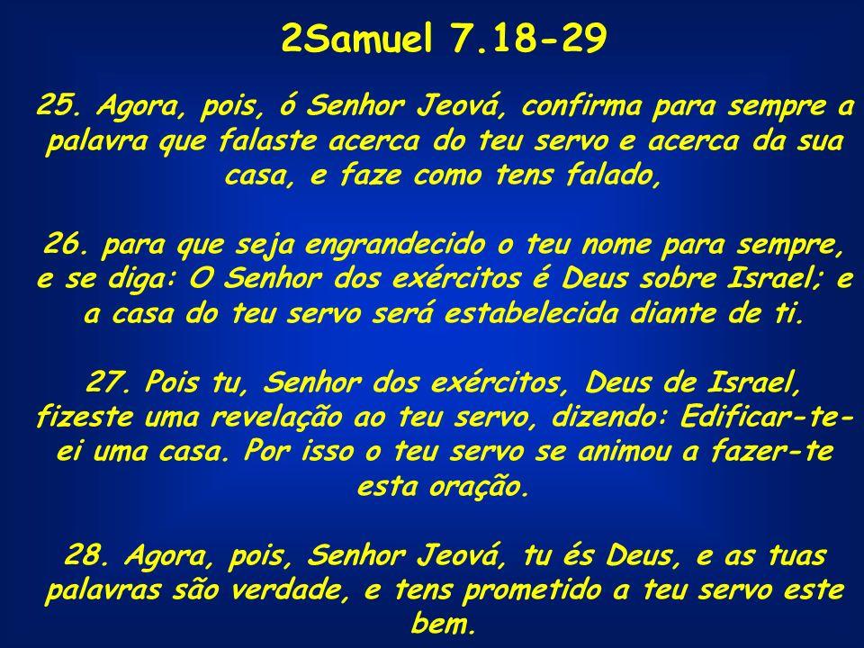 2Samuel 7.18-29