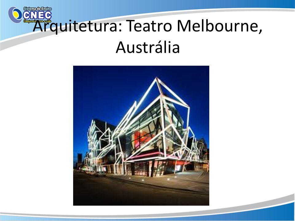 Arquitetura: Teatro Melbourne, Austrália
