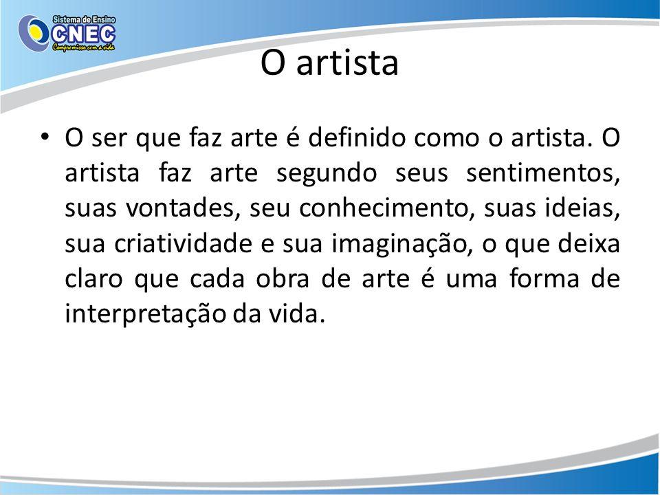 O artista