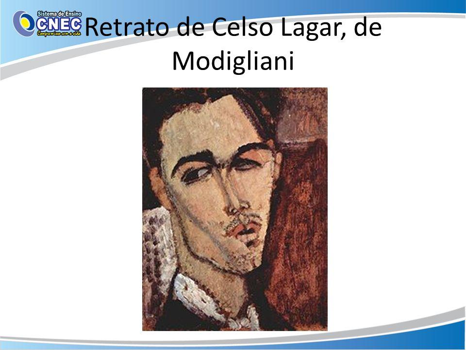 Retrato de Celso Lagar, de Modigliani