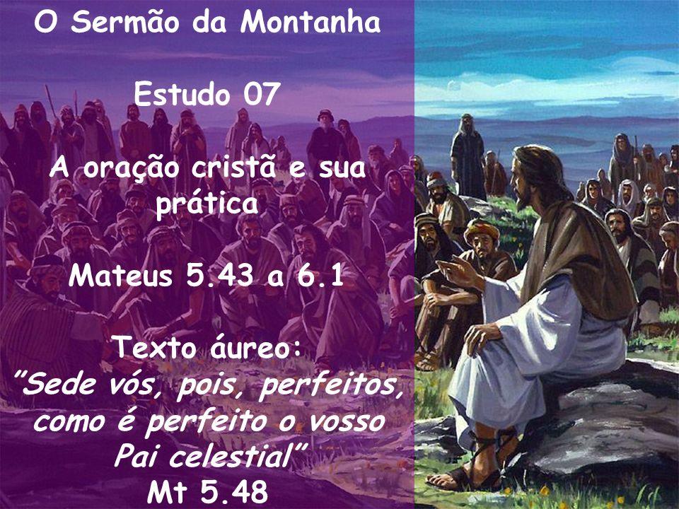 A oração cristã e sua prática