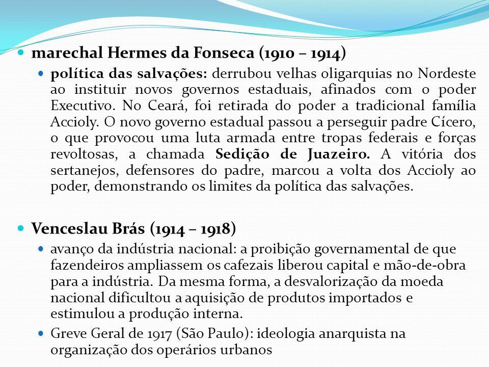 marechal Hermes da Fonseca (1910 – 1914)