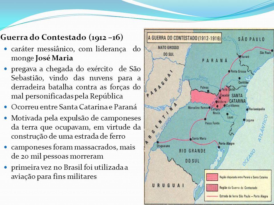 Guerra do Contestado (1912 –16)