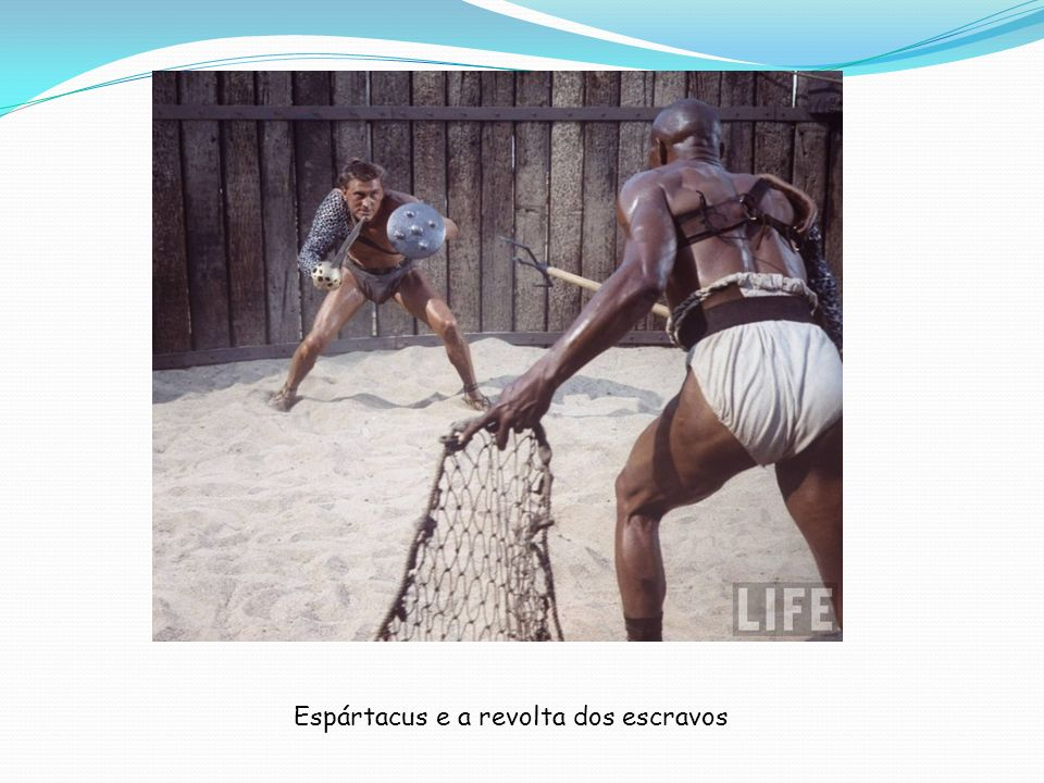 Espártacus e a revolta dos escravos
