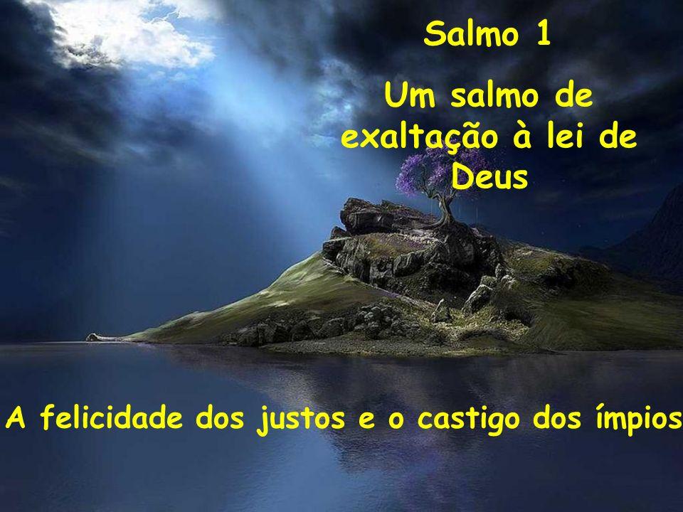 Salmo 1 Um salmo de exaltação à lei de Deus