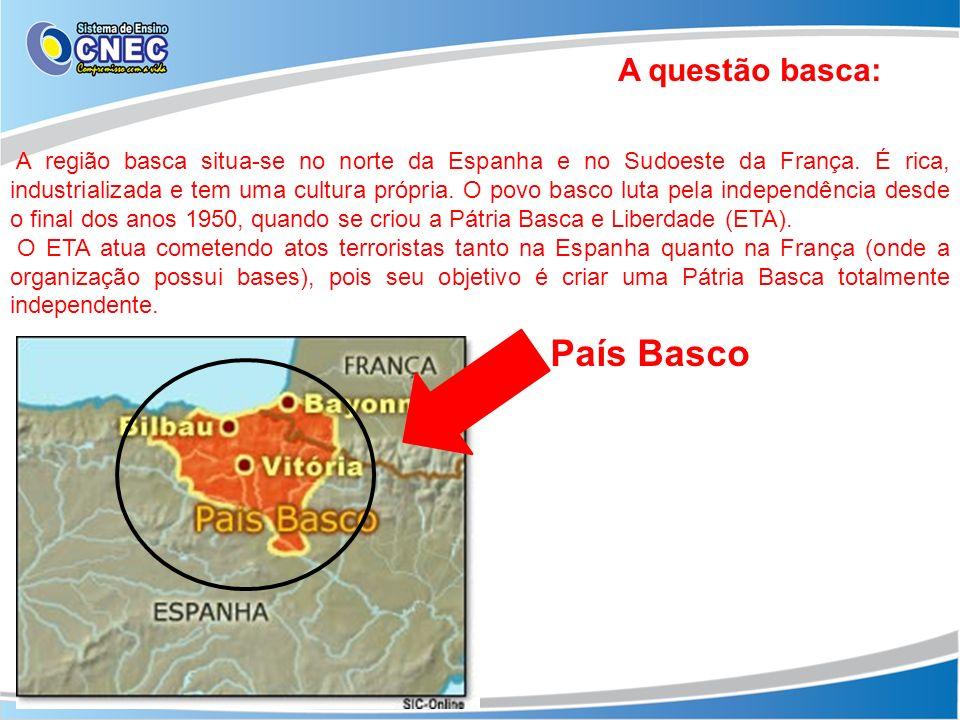País Basco A questão basca: