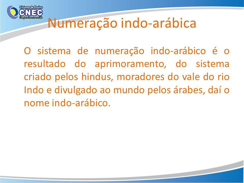 Numeração indo-arábica