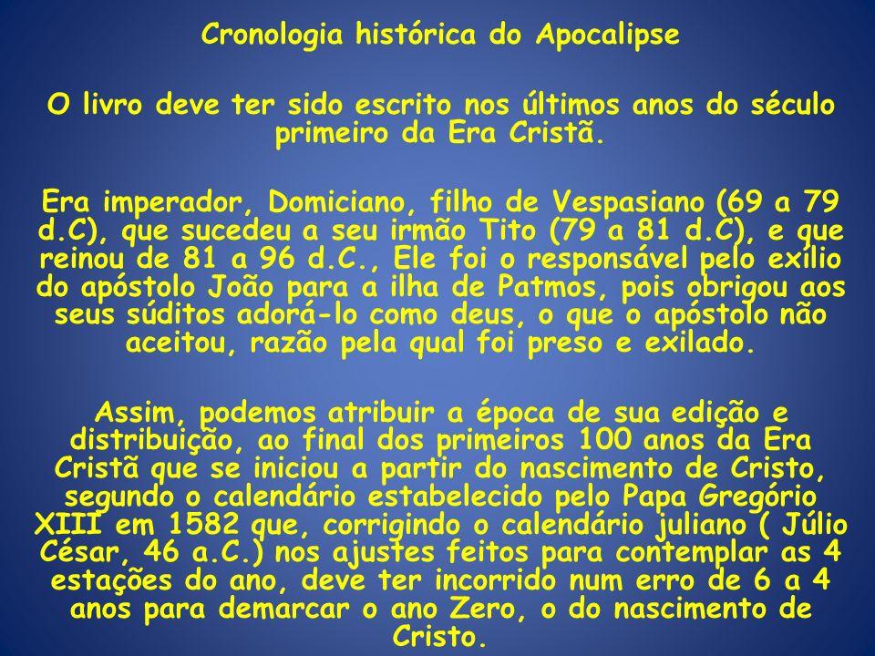 Cronologia histórica do Apocalipse
