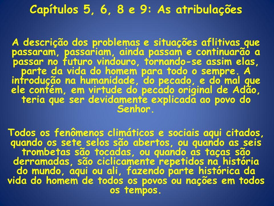 Capítulos 5, 6, 8 e 9: As atribulações