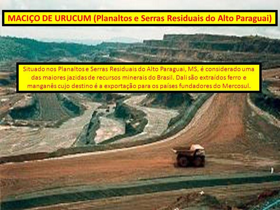 MACIÇO DE URUCUM (Planaltos e Serras Residuais do Alto Paraguai)