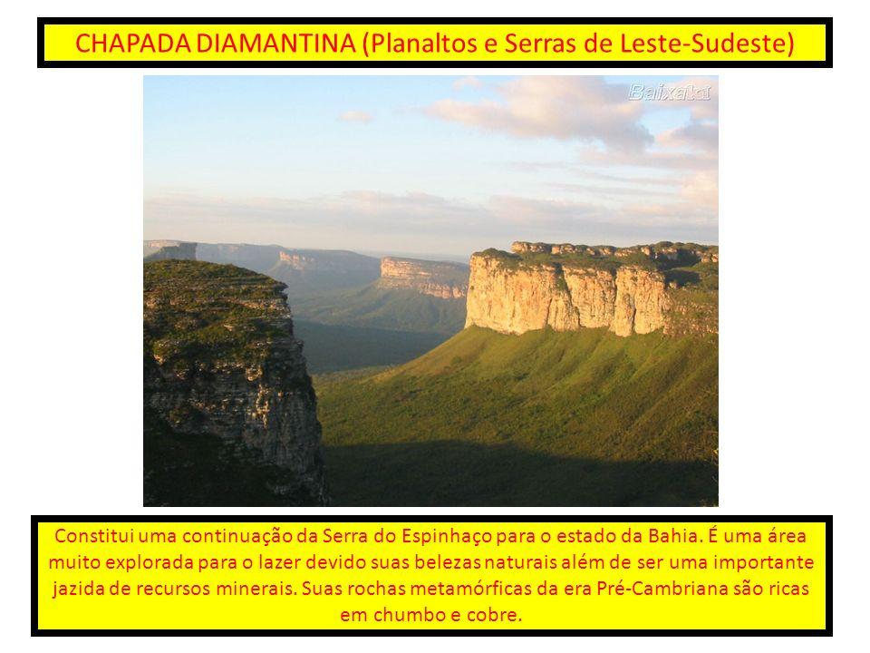 CHAPADA DIAMANTINA (Planaltos e Serras de Leste-Sudeste)