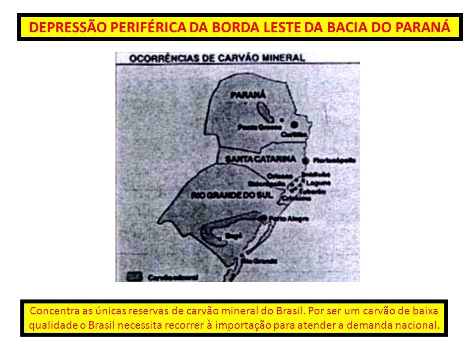 DEPRESSÃO PERIFÉRICA DA BORDA LESTE DA BACIA DO PARANÁ