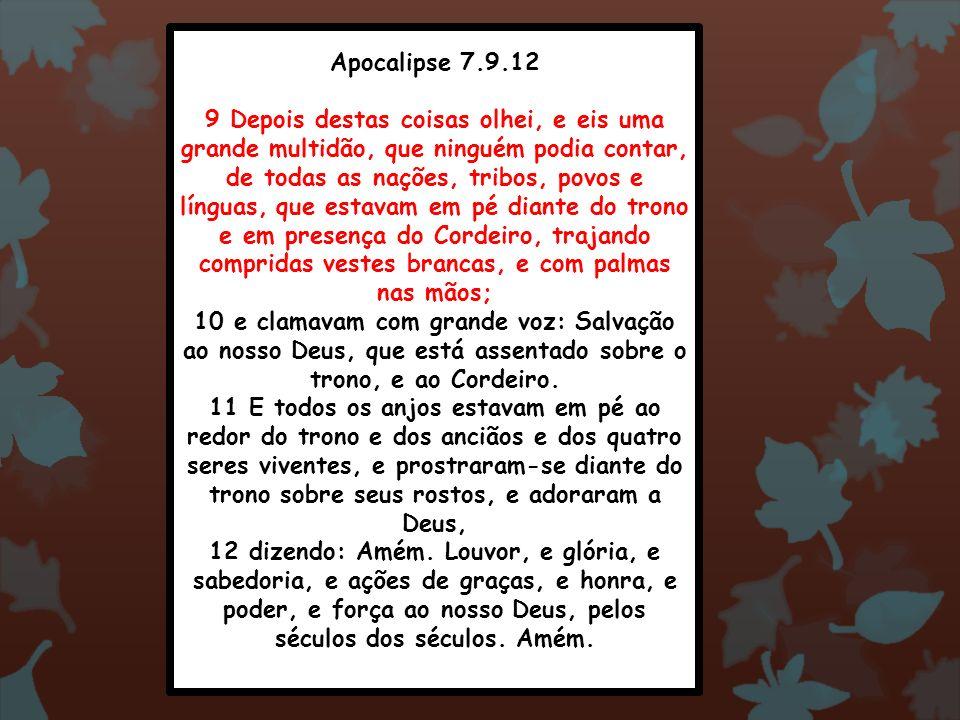 Apocalipse 7.9.12