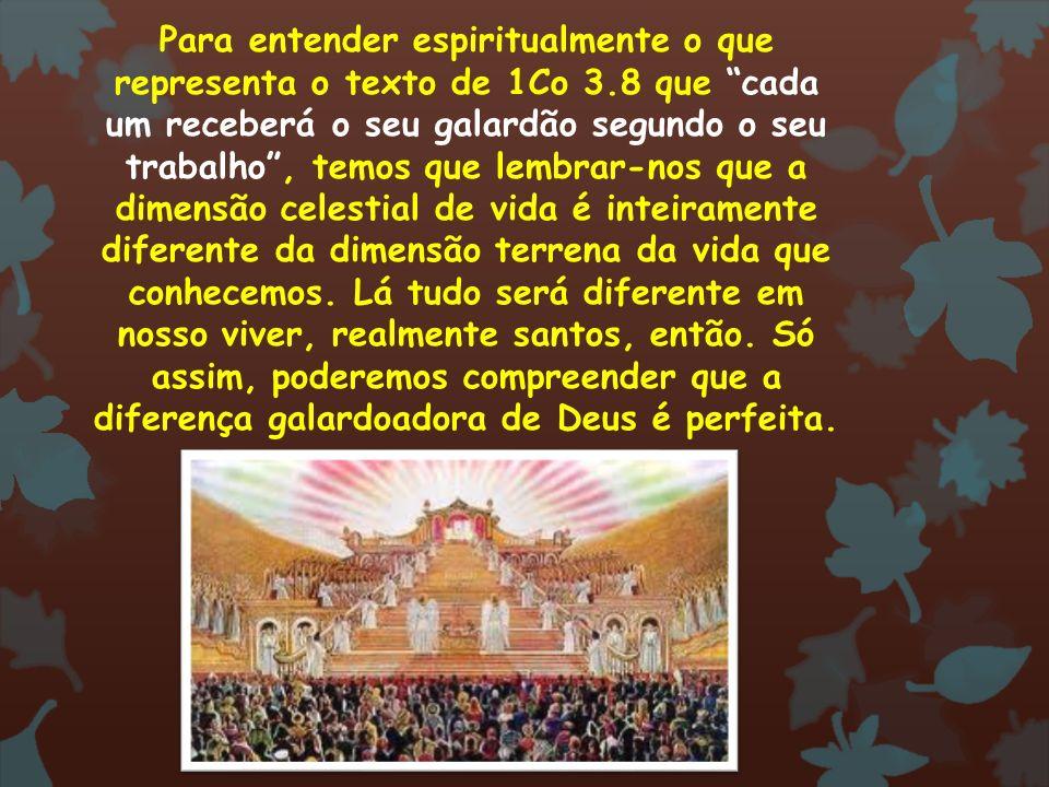 Para entender espiritualmente o que representa o texto de 1Co 3