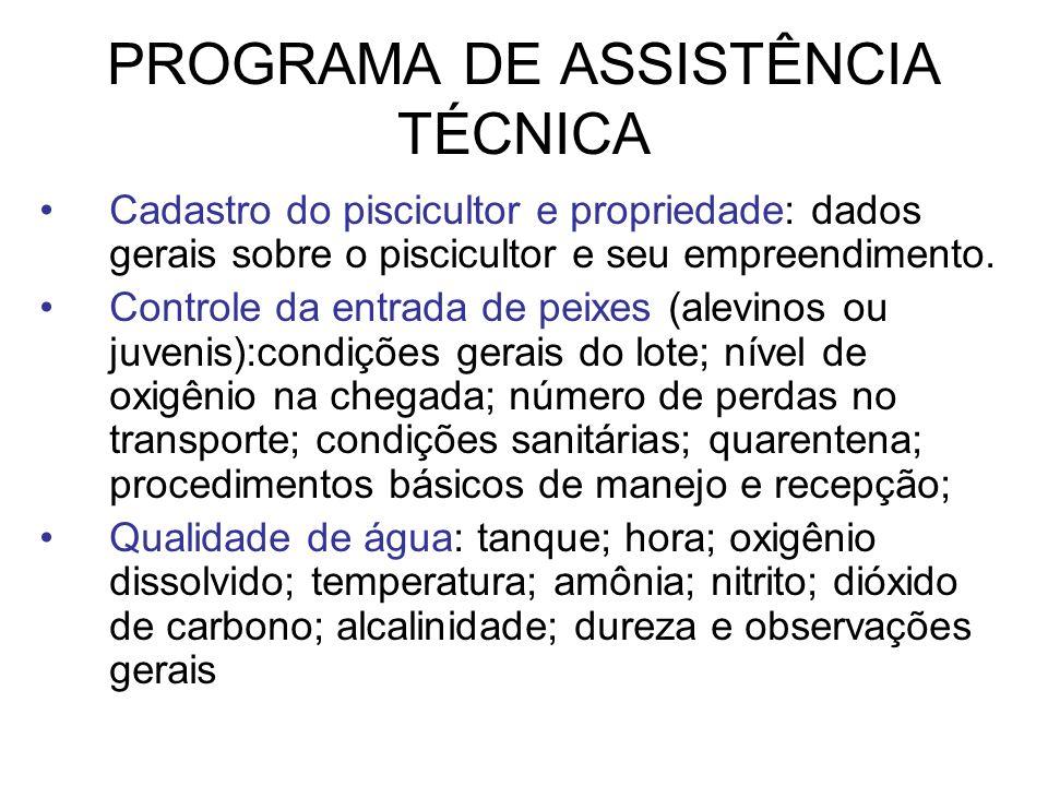 PROGRAMA DE ASSISTÊNCIA TÉCNICA