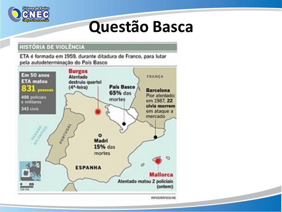 Questão Basca Disponível em: noticias.r7.com Acesso em: 02 out. 2013.
