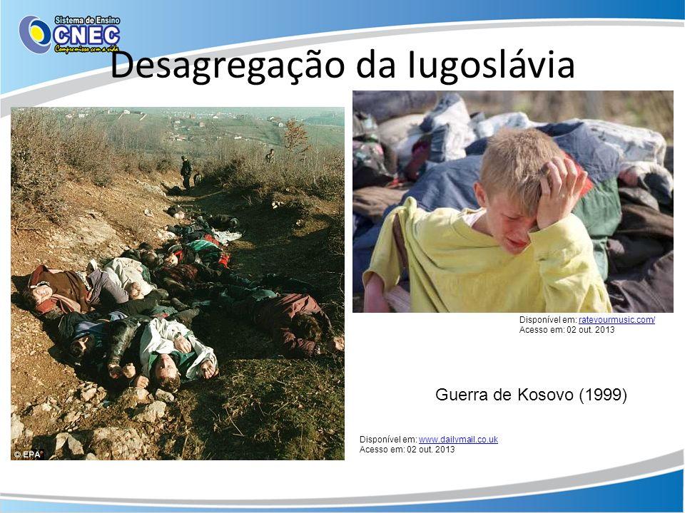 Desagregação da Iugoslávia