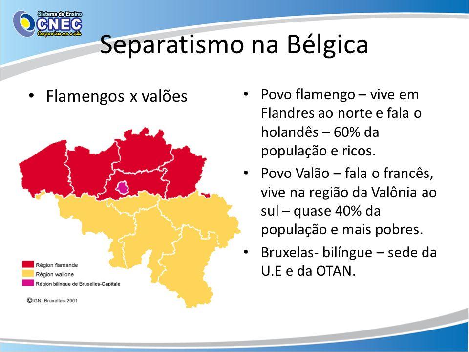 Separatismo na Bélgica