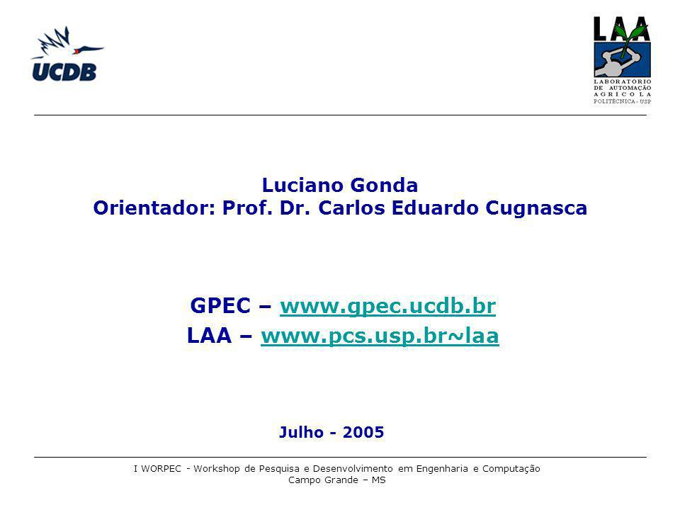 Luciano Gonda Orientador: Prof. Dr. Carlos Eduardo Cugnasca