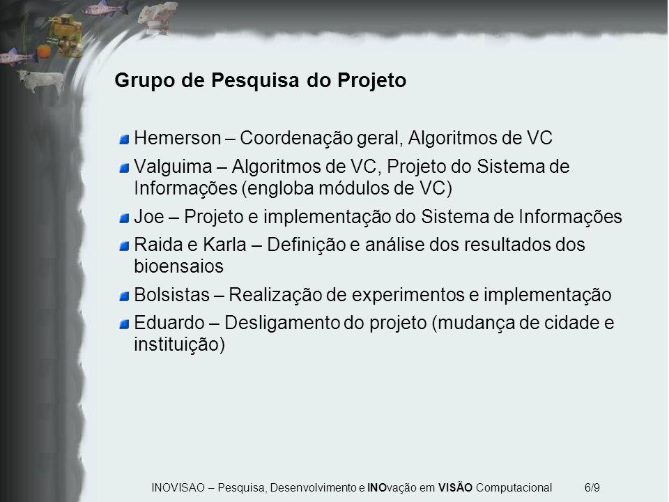 Grupo de Pesquisa do Projeto