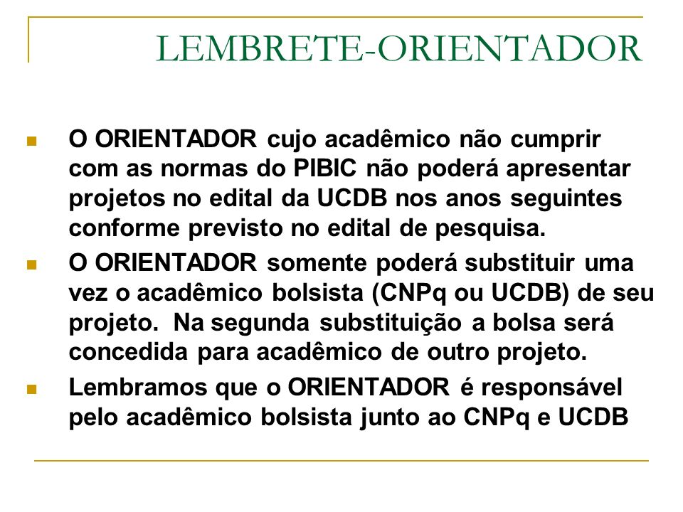 LEMBRETE-ORIENTADOR