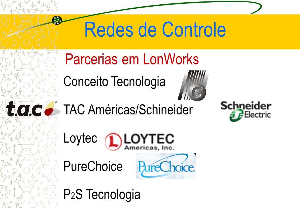 Redes de Controle Parcerias em LonWorks Conceito Tecnologia