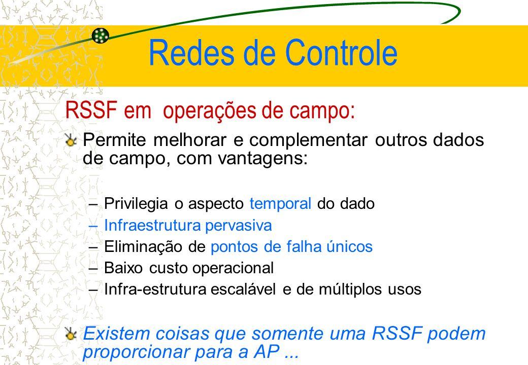 RSSF em operações de campo: