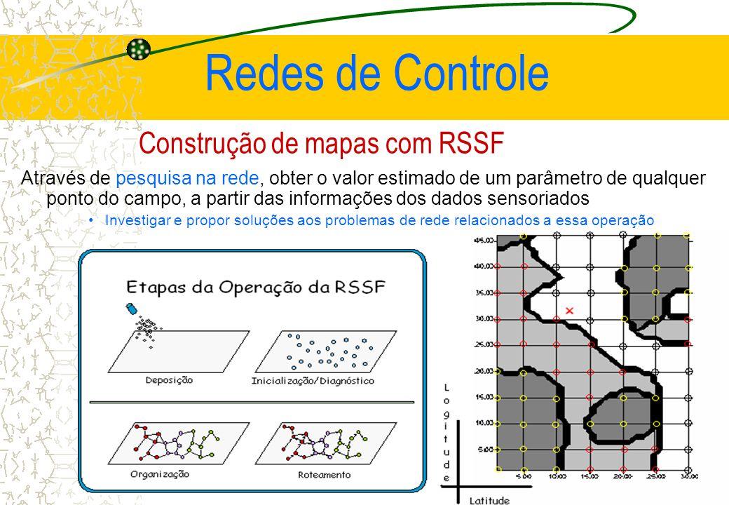 Construção de mapas com RSSF