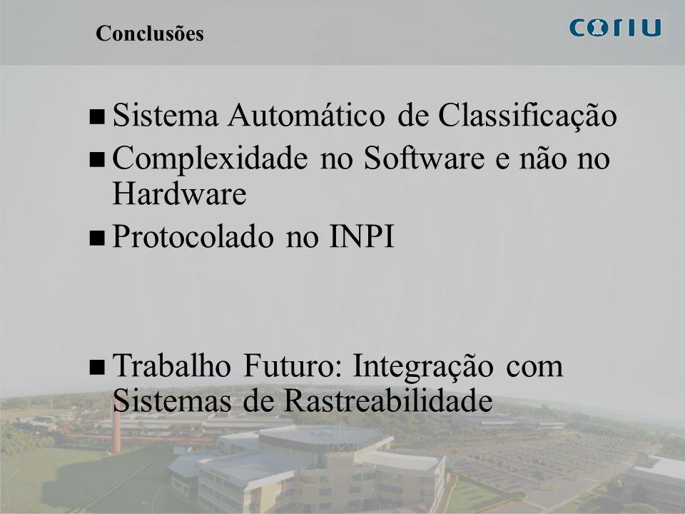 Sistema Automático de Classificação