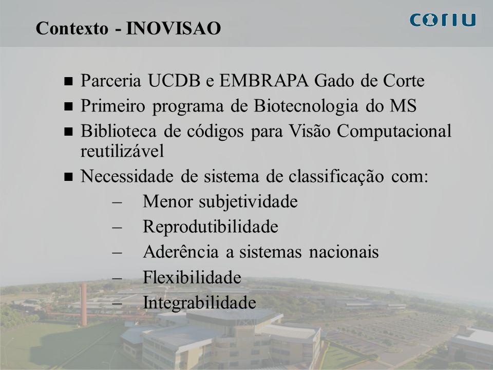 Contexto - INOVISAOParceria UCDB e EMBRAPA Gado de Corte. Primeiro programa de Biotecnologia do MS.
